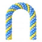 Арка из плетеных шаров № 9, цена за 1м