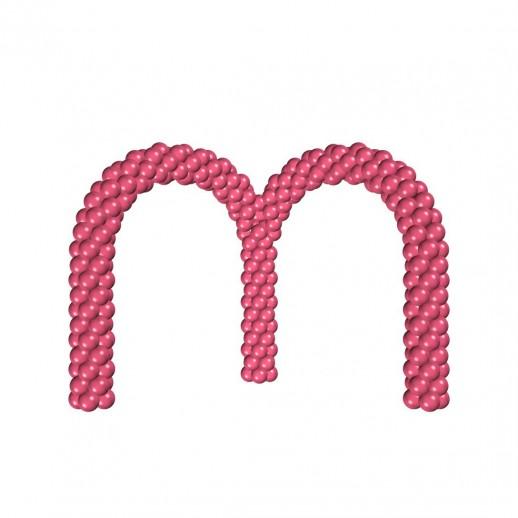 Арка из плетеных шаров № 4, цена за 1м