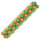 Гирлянда зелено-оранжевая, цена за 1 м