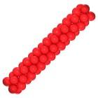 Гирлянда красная, цена за 1 м