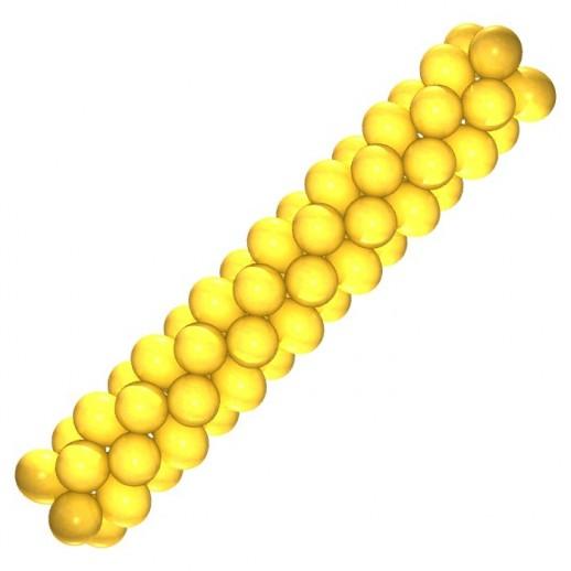 Гирлянда желтая, цена за 1 м
