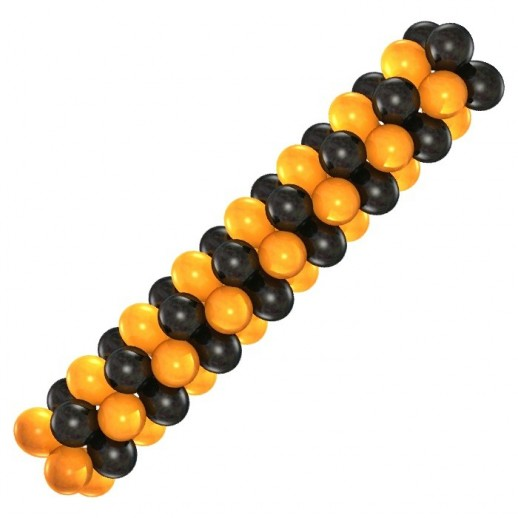 Гирлянда черно-оранжевая, цена за 1м