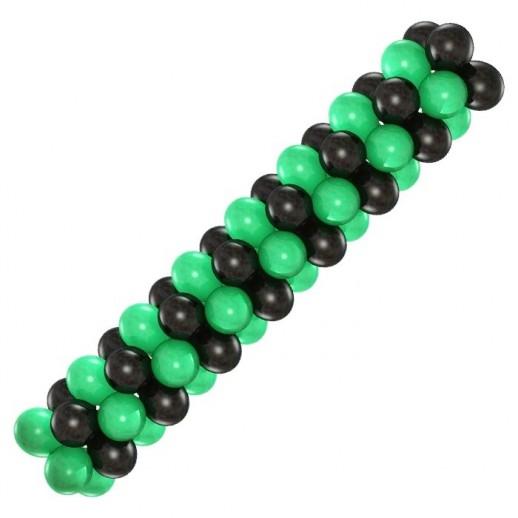 Гирлянда черно-зеленая, цена за 1м