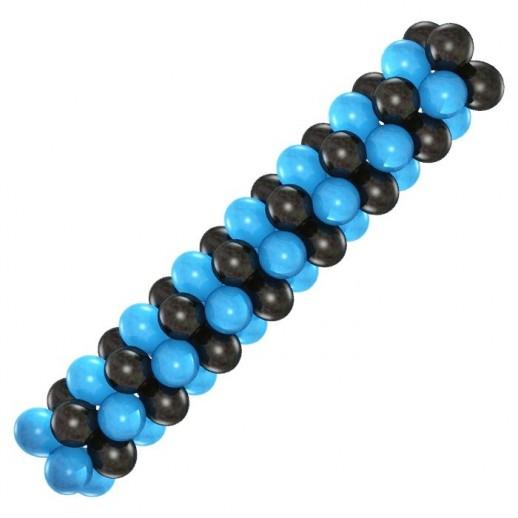Гирлянда черно-синяя, цена за 1м