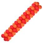Гирлянда оранжево-красная, цена за 1м