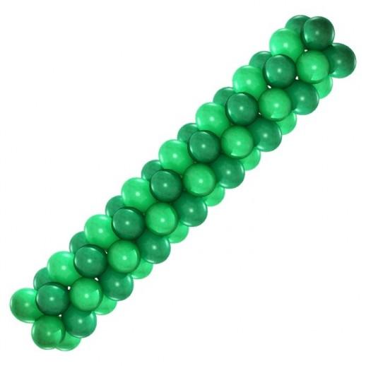 Гирлянда зеленая 2 цвета, цена за 1м