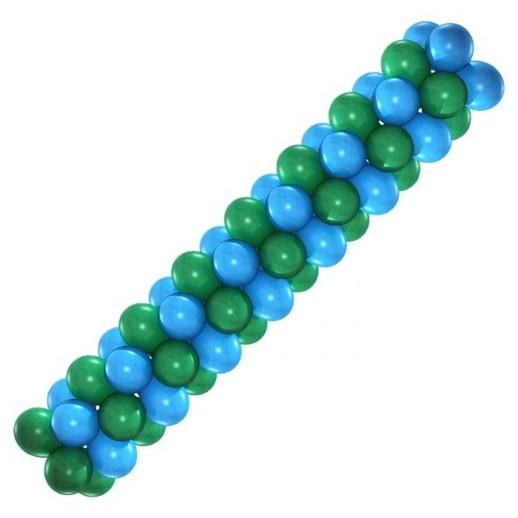 Гирлянда голубая-зелёная, цена за 1м