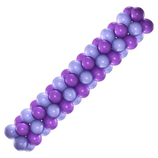 Гирлянда сиренево-фиолетовая, цена за 1м