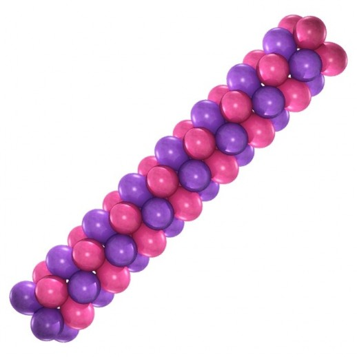 Гирлянда малиново-фиолетовая, цена за 1м