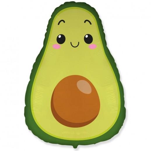 Авокадо, фольгированный шар
