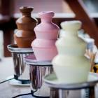 Аренда шоколадного фонтана Sephra CF16, 40 см, 3 яруса, шоколад 2 кг