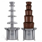 Аренда шоколадного фонтана, 86 см, 5 ярусов, шоколад 6 кг