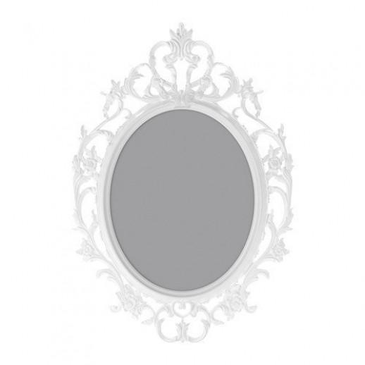 Аренда круглой рамки, белая