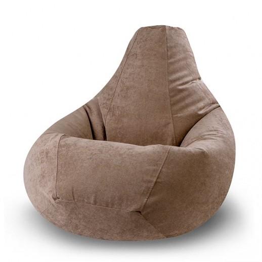 Кресло - груша, коричневая