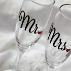 Свадебные бокалы № 12