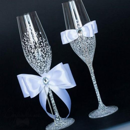 Свадебные бокалы № 14