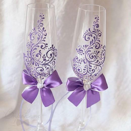 Свадебные бокалы № 16