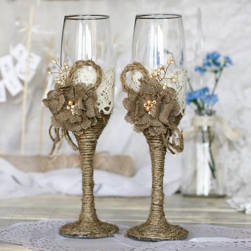 Свадебные бокалы № 17