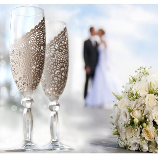 Свадебные бокалы № 23