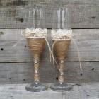 Свадебные бокалы № 24