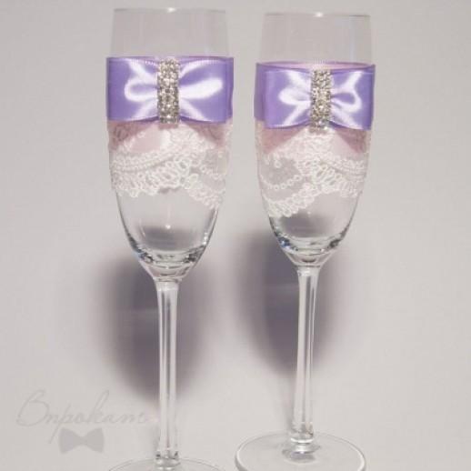 Свадебные бокалы № 26