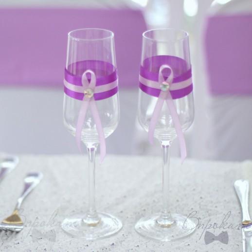 Свадебные бокалы № 29