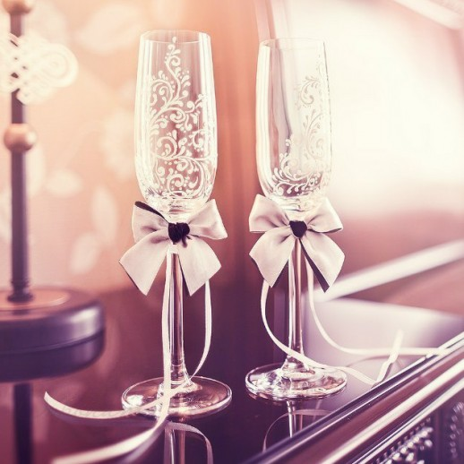 Свадебные бокалы № 3