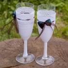 Свадебные бокалы № 30