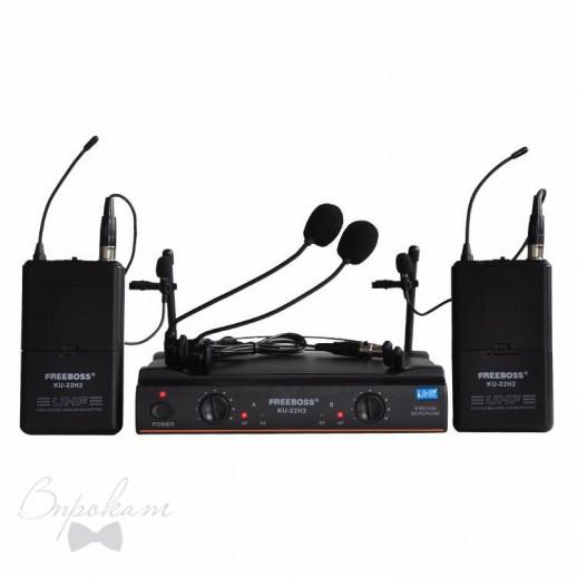 Головные радиомикрофоны Freeboss KU-22H2