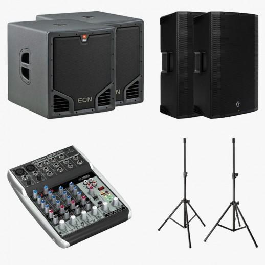Звуковой комплект, 3 кВт